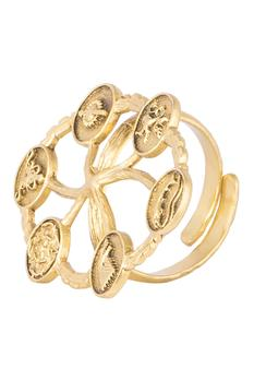 Carved Statement Ring