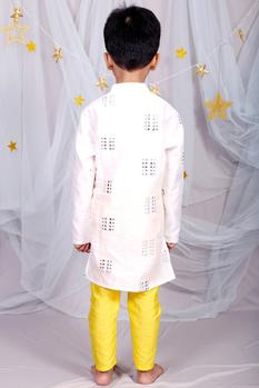 Pure Chanderi Silk Kurta Set