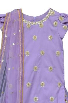 Cotton Silk Sharara Set