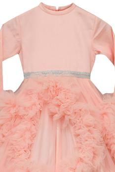 Flared Ruffle Gown