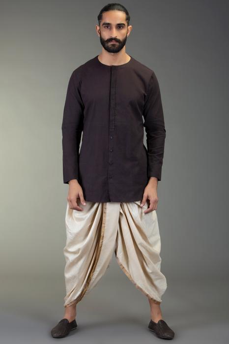 Pre-Draped Dhoti Pants
