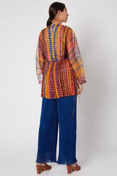 Cotton Silk Printed Tunic