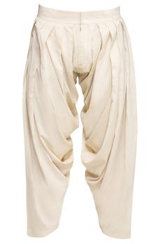 Cotton Silk Dhoti Pant