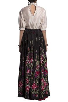 Chanderi Skirt Set