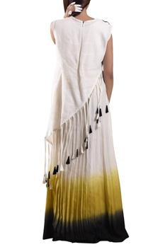 Dress with Asymmetric top