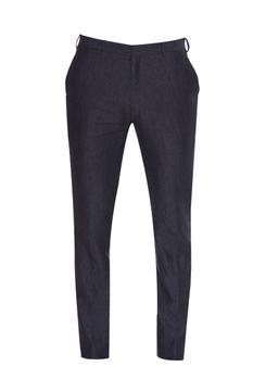 Linen casual trousers