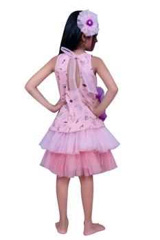 Double frilled layered dress