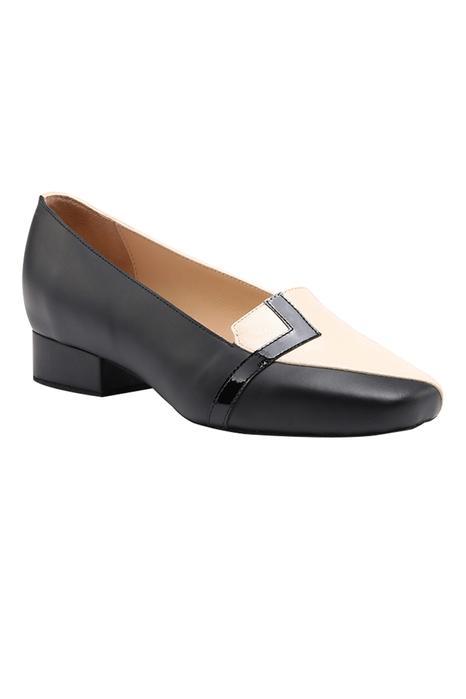 Alma Colorblock Block Heels