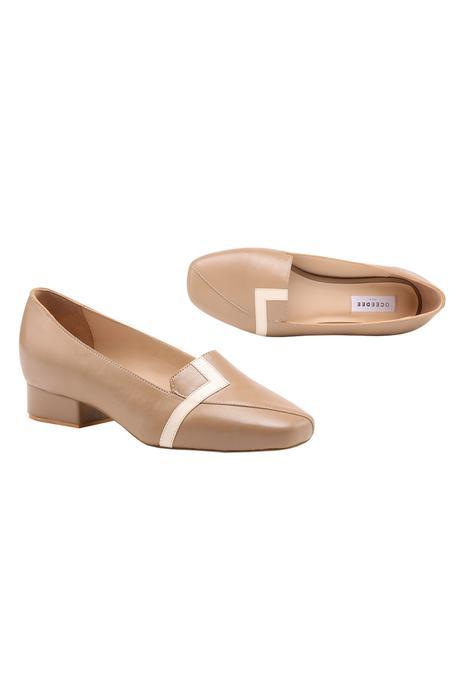 Alma Leather Block Heels