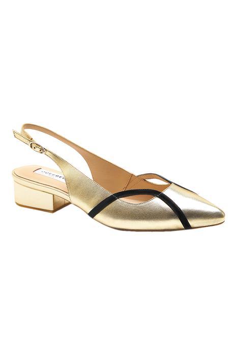 Ayesha Pointed Toe Block Heels