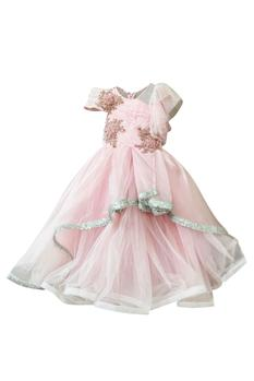 Organza Layered Gown