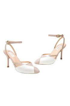 Camille Pointed Toe Colorblock Stilettos