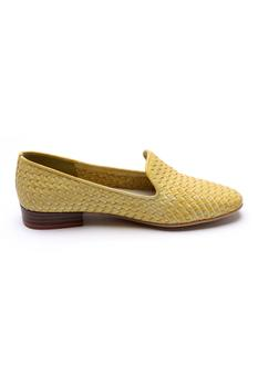 Leather Textured Loafers