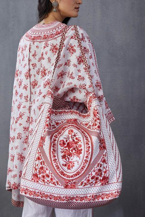 Floral Print Bag