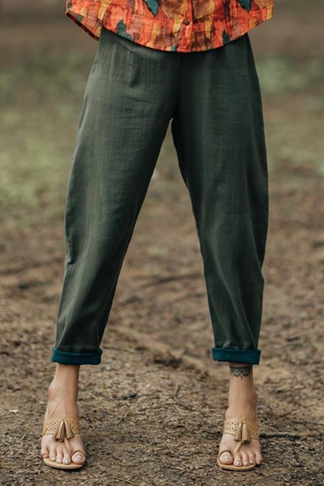 Handloom Cotton Pant