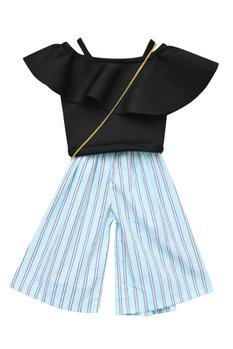 Striped Pant Set