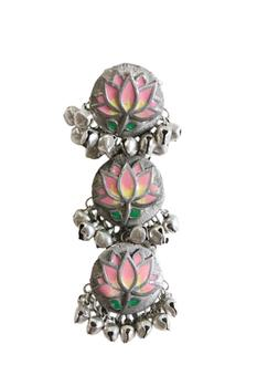 Floral Tiered Danglers