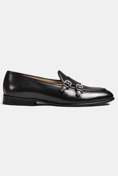 Hand Painted Double Monk Loafers