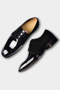 Suede Leather Derby Shoes