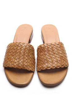 Leather Textured Sandals