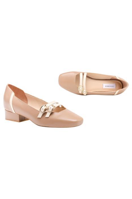 Lavonia Buckle Strap Block Heels