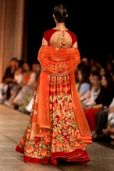 Floral Embroidered Anarkali Gown
