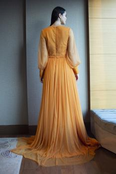Flared Gown