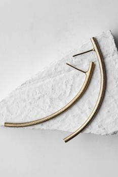 Hammered Statement Earrings