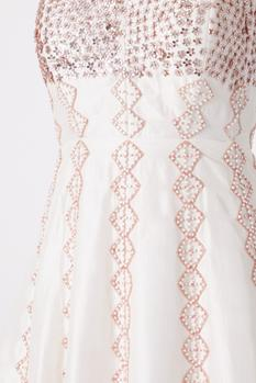 Backless Anarkali Gown