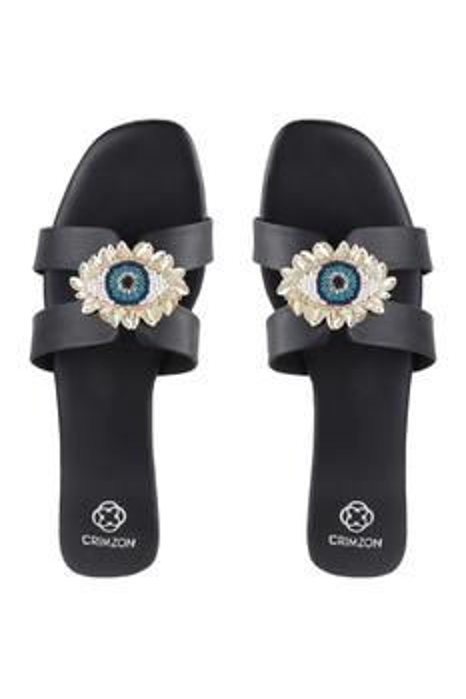 Nigah Evil Eye Sandals
