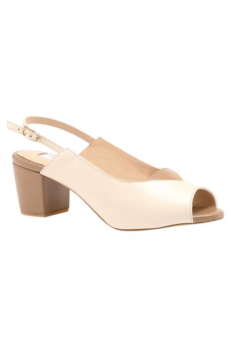 Shirring Handcrafted Peep Toe Block Heels