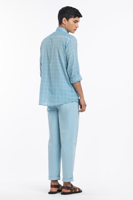 Pleat Front Pants