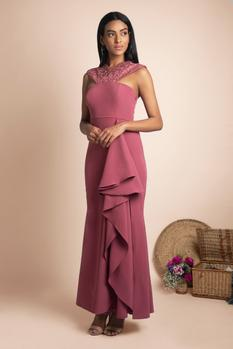 Draped Gown