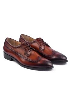 Hand Painted Derby Brogues