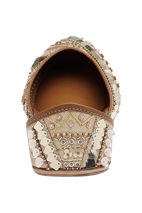 Aziza Bead Embellished Juttis
