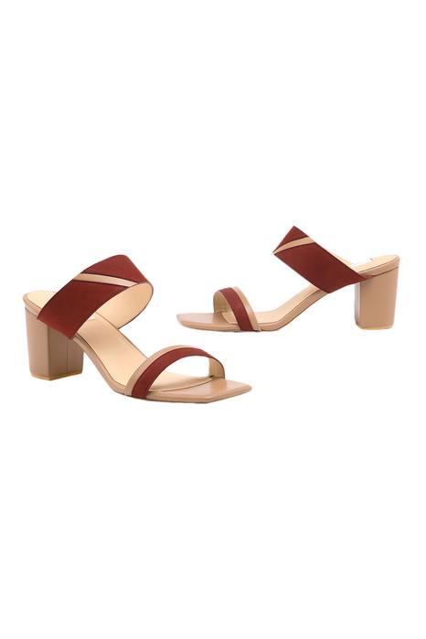 Zarina Handcrafted Block Heels