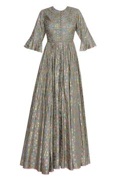 Brocade Anarkali Gown