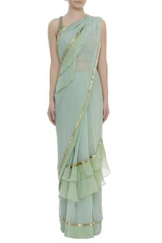Frill saree with blouse & petticoat