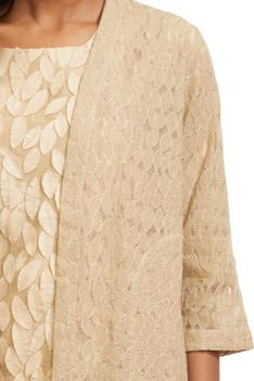 Embroidered Organza Jacket