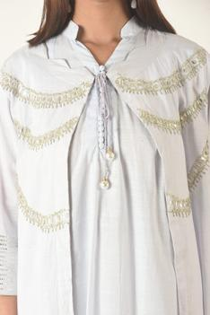 Tunic with Embroidered Jacket