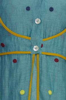 Embroidered Jacket with Tunic