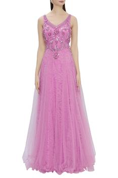 Bead Embroidered Gown