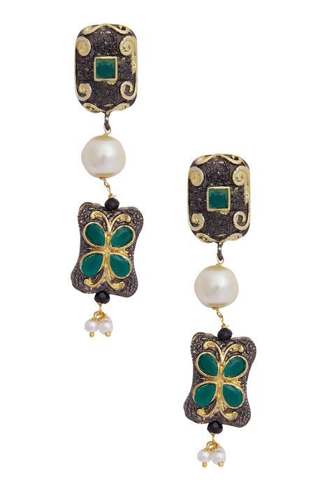Bead necklace set