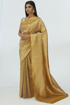 Cotton Linen Saree