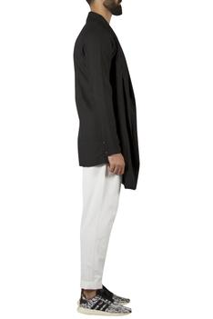 Layered draped Short Kurta