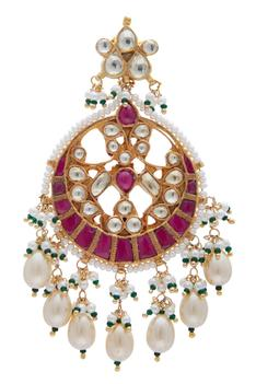 Kundan Chandbaali Earrings