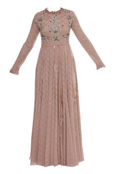 Zardozi Embroidered Anarkali With Dupatta
