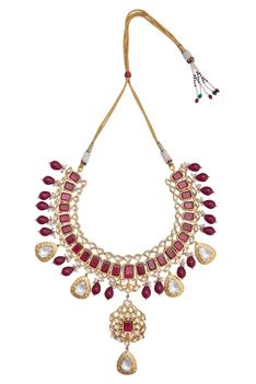 Adjustible necklace and earrings set