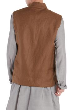 Button Front Nehru Jacket