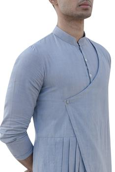 Pleated Overlap Kurta